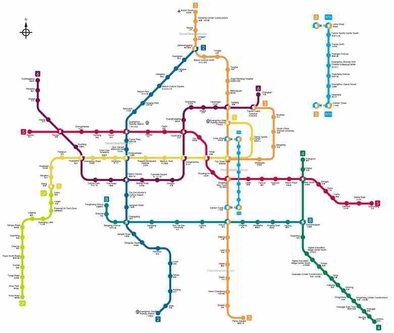 Guangzhou Subway Map 2017.Learn About Banggood S Hometown